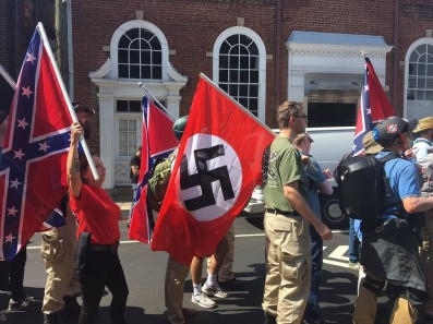 Image result for away with the jews charlottesville