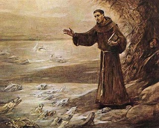Image result for st anthony of padua preaching to the fish