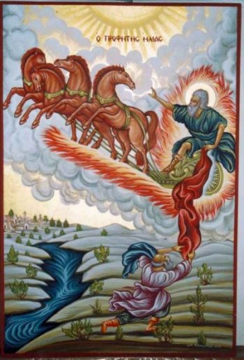 Did the Prophet Elijah Actually Ascend 'Into' Heaven? | MYSTAGOGY RESOURCE CENTER