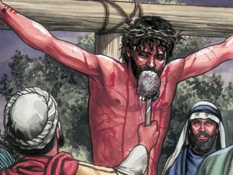 RECURSOS DE EVANGELISMO: CRUCIFICAÇÃO E SEPULTAMENTO DE JESUS